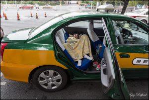 Dans le Taxi