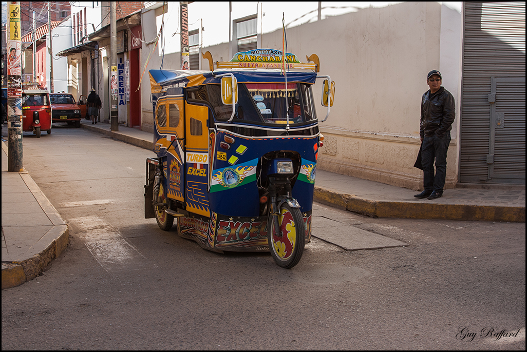 Taxi Péruvien