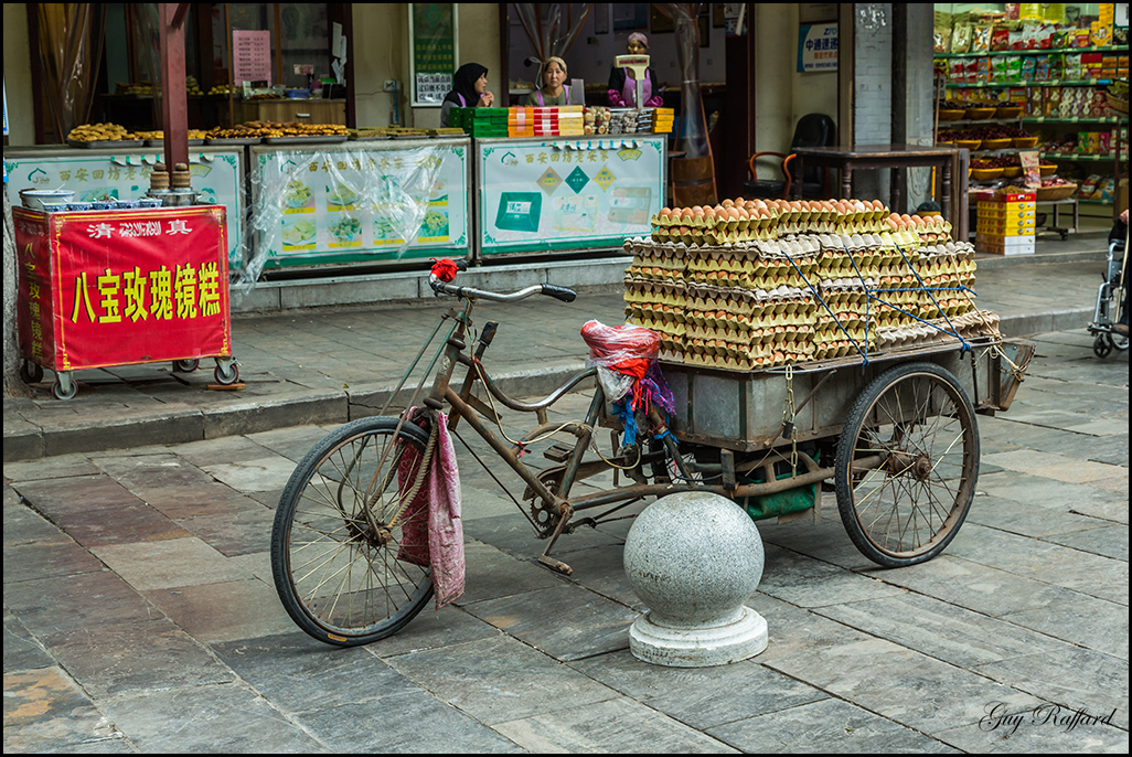 Transport d'oeufs